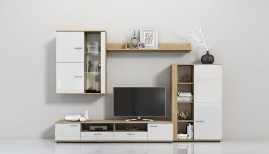 European Style Wall Units & Entertainment Centers